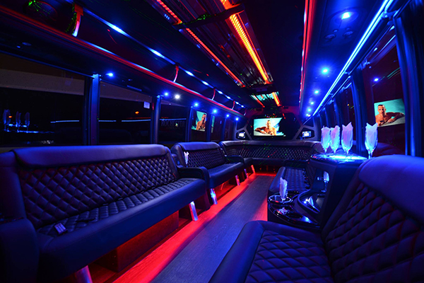 40 Person Party Bus Rental Jacksonville